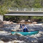 Paddling down the Wolf River