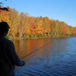 Fall fishing in the County of Trails.