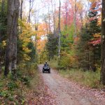 Fall ATVing in Langlade County