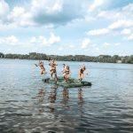 clear lake raft jump photo Deb Mueller