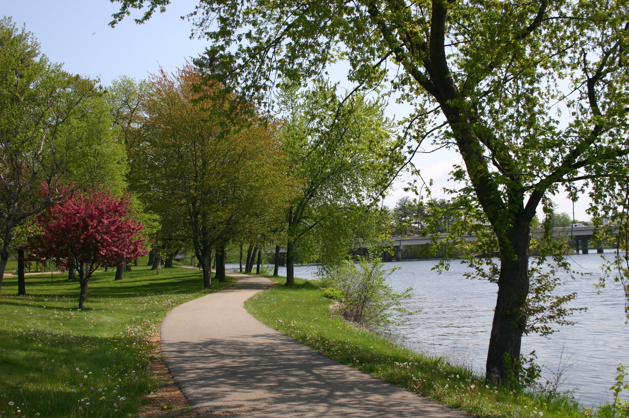Spring along Wisconsin River