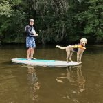 SUP on the Wisconsin River